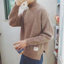 Basique - Mock Turtleneck Sweater