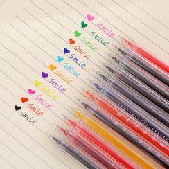 Red Unicorn - 创意温度计造型中性笔