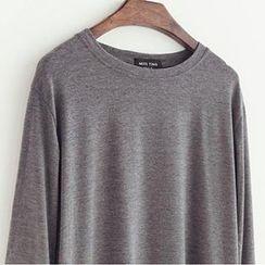 Dute - Drop-Shoulder Long-Sleeve T-Shirt
