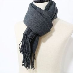 Mr. Cai - Fringe-Trim Cotton Scarf