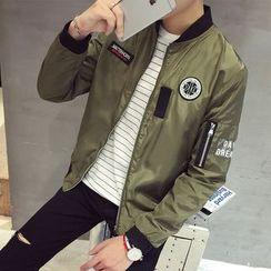 Weroni - Appliqué Bomber Jacket