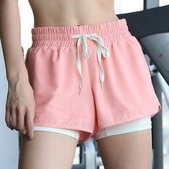 INIZIO - Inset Sports Shorts