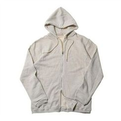 THE COVER - Hooded Zip-Up Jacket