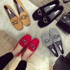 Chryse - Velvet Loafers