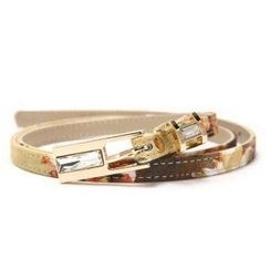 O.SA - Printed Slim Belt