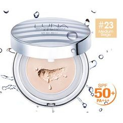 LUNA - Brightening Essence BB Pact With Refill SPF 50+ PA+++ (#23 Medium Beige)