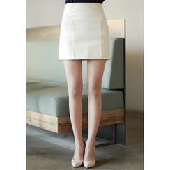 MyFiona - Zip-Back Mini Skirt