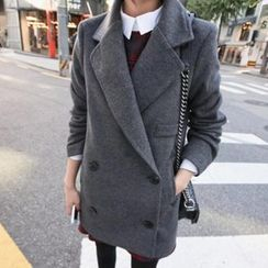 OTTI - Double Breasted Long Coat