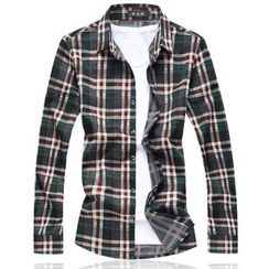 Riverland - Plaid Long-Sleeve Shirt