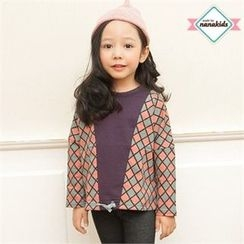 nanakids - Kids Keyhole-Back Patterned Top