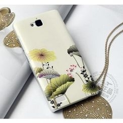 Kindtoy - Lotus Flower Print Huawei Honor 3C Case