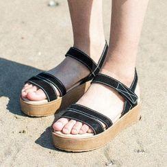 MIAOLV - Platform Strappy Sandals