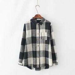 Tangi - Check Long-Sleeve Shirt