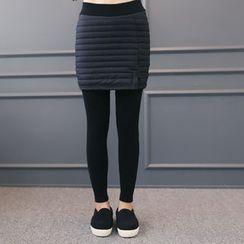 DANI LOVE - Inset Padded Skirt Leggings