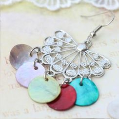 Fit-to-Kill - Bohemian colorful shell Earrings