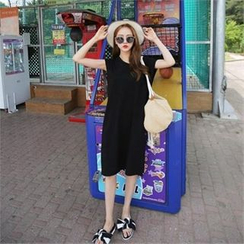 QNIGIRLS - T-Shirt Dress