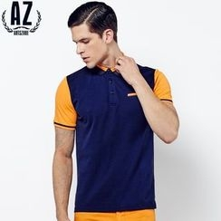 Antszone - Short-Sleeve Polo Shirt