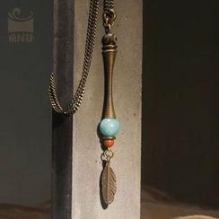 Zeno - Amazon Stone Necklace