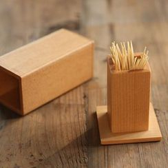 Modern Wife - Wooden Toothpick Holder