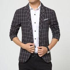 VILUNI - 格子西装外套