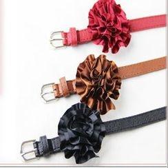 Goldenrod - Flower Skinny Belt