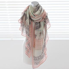 Rita Zita - Print Cotton Light Scarf