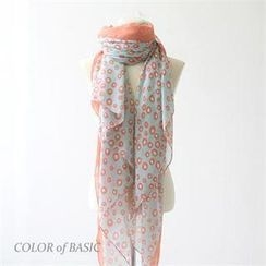COLOR of BASIC - Dotted Long Scarf