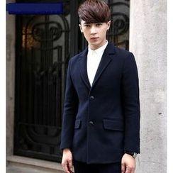 WOOG - Single Breasted Woolen Jacket