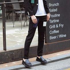 匡亿 - 补丁修身长裤