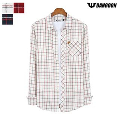 DANGOON - Pocket-Front Check Shirt
