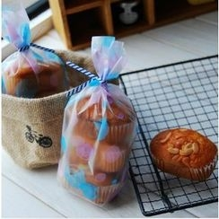 Ivyknoll - Dotted Bakery Packing Bag Set (100pcs)