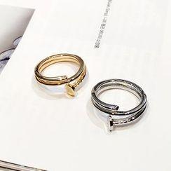 Jael - 金屬釘子戒指