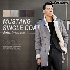 DANGOON - High-Neck Faux-Shearling Coat