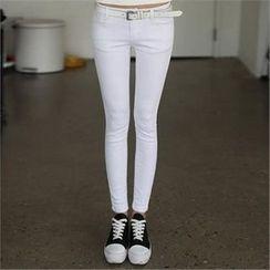 CHICFOX - Plain Skinny Pants