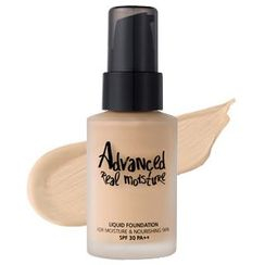 touch in SOL - Advanced Real Moisture Liquid Foundation SPF30 PA++ (#21 Nude Beige)