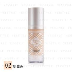 Miss Hana - Velvet Seamless Liquid Foundation SPF 50+ PA+++ (#02 Luminous Beige)