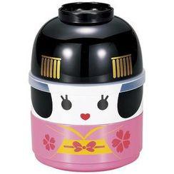 Hakoya - Hakoya Kokeshi 2 Layers Lunch Box Maiko