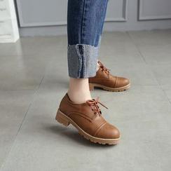 ZIMA - 粗跟牛津鞋