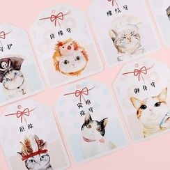 Homey House - Pack of 30: Cat Print Postcards