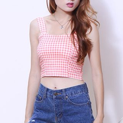 IndiGirl - Cropped Camisole Top