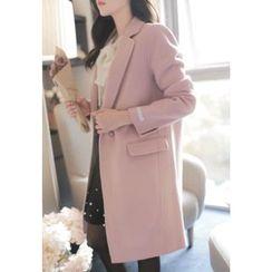 MyFiona - Single-Breasted Hand-Made Coat