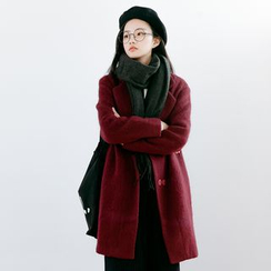 Forest Girl - Wool Blend Coat