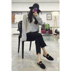 OZNARA - Flat-Front Dress Pants