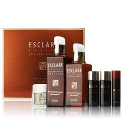 S,Claa - EsClare Revive Skin Care Set: Essential Primer 100ml + Concentrated Emulsion 130ml + Essential Primer 20ml + Concentrated Emulsion 20ml + Serum + Lifting Cream