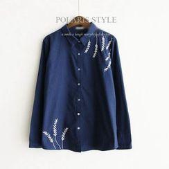 Polaris - 刺绣衬衫