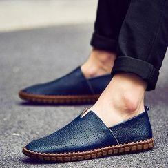 NOVO - Genuine Leather Slip-Ons