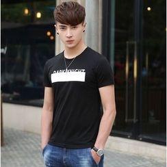 WOOG - Lettering Printed T-Shirt