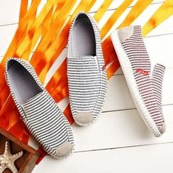 Ireoul - Striped Slip-Ons