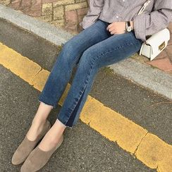 A7 SEVEN - Panel Boot-cut Jeans