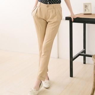 CatWorld - Cuffed Tapered Pants